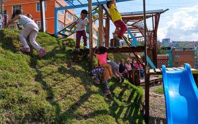 Urban95 Bogotá Crezco con mi barrio revoluciona desde el juego en la Acacia, Ciudad Bolívar