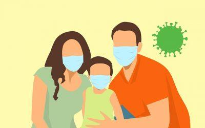 ¿Cómo apoyar a los niños pequeños aislados por coronavirus?